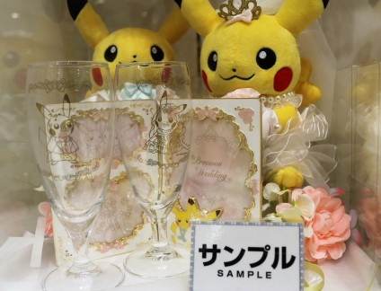 Collection mariage Pokemon