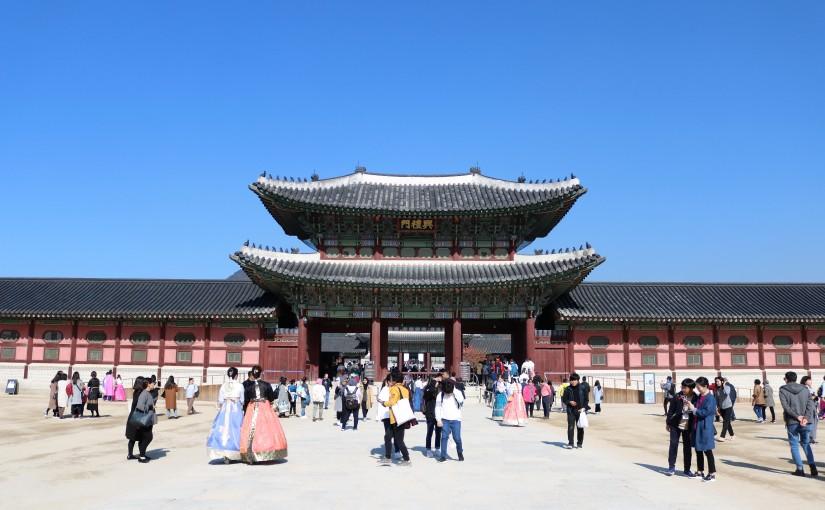 Palais royal, hanbok, rooftop et barbecue à Séoul (Corée duSud)